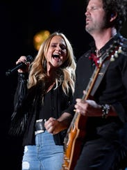 Miranda Lambert performs during CMA Fest 2017 Thursday,