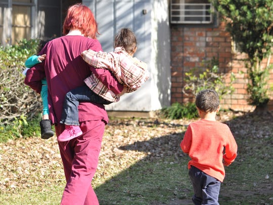 Shannon Coffey is a lifelong Alexandria resident and single mom of four who says a local organization's transitional housing program changed her life.