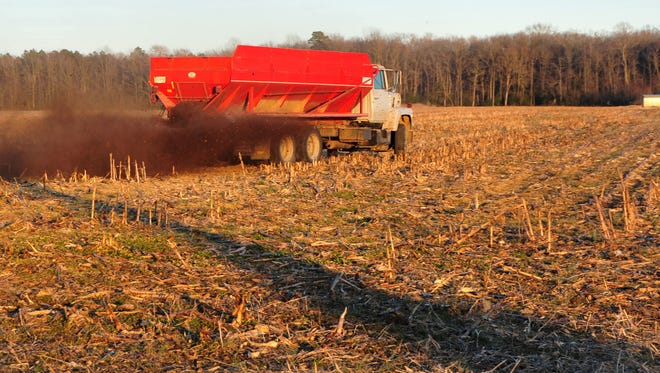 If heavy rains continue into the fall, farmers might have trouble finding that window when they can safely spread manure.