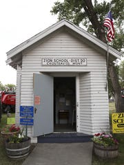 The Zion school was used between 1913 and 1925 in Chouteau County. It was moved to the Montana ExpoPark in 1975.