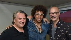 Joe D'Urso, Jake Clemons and Mark Rashotte. Rockland-Bergen