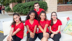 The Latin Dancers - Angelina Melendez, Jaylene Toribio,