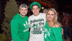 Scott, Steve, Shannon. St. Patrick's Day 2018 at The