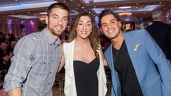 Anthony and Raquel Pisacreta with Brett Elia. Nikki