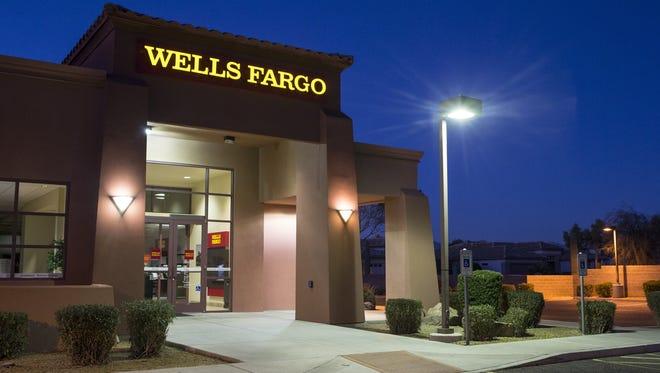 Wells Fargo, 19450 N Sunrise Blvd, Surprise, Arizona.