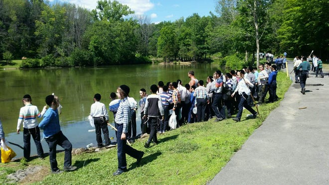 Camp Rav Tov at Lippman Park in Wawarsing in 2018