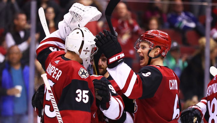 From worst to one of hottest: Coyotes say streak is for real