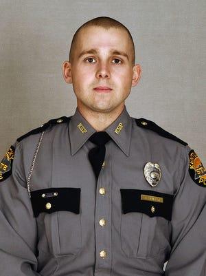 Trooper Tyler Hunter, KSP Post 12.