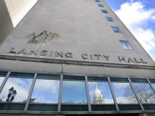 Lansing City Hall appears in a 2014 file photo.