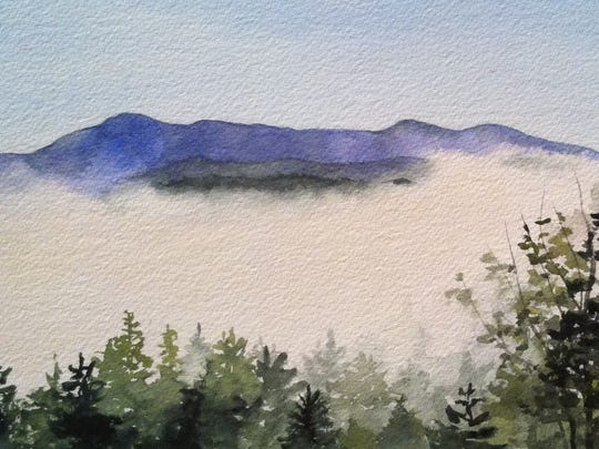 "Ellen Lapointe Fontaine's ""Mountain Fog"" will be among"