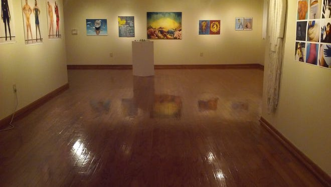 The exhibit, located at the Oglesby Gallery at the Union, is set to run until March 27.