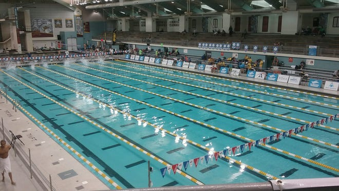 Marysville High School coach Julie Rogers competed at the USA Swim Masters Nationals recently at the University of Minnesota.