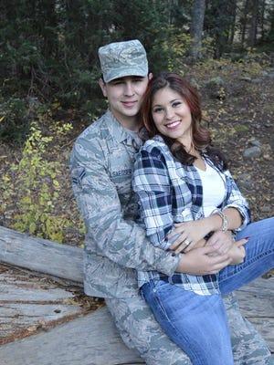 "Aspen ""Huera"" Martinez-Padilla  and John Ellsaesser will marry on Sept. 17 at Sacred Heart Catholic Church in Farmington."