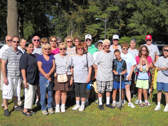 Duke Island Park Wednesday Walkers hit the trails at