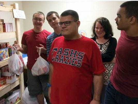 "Chambersburg Area Senior High School ""Super Seniors"" do a variety of work to gain insight into potential employment, including participating in the ""Power Packs"" program that provides about 50 families of Stevens Elementary students with meals over weekends."