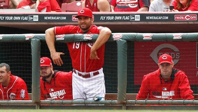 Joey Votto was limited to 62 games last season because of injury.