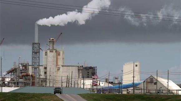 Mississippi Phosphates' fertilizer manufacturing facility