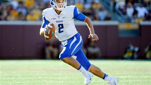 Middle Tennessee State quarterback Austin Grammer said he is ready to return where his football career began.