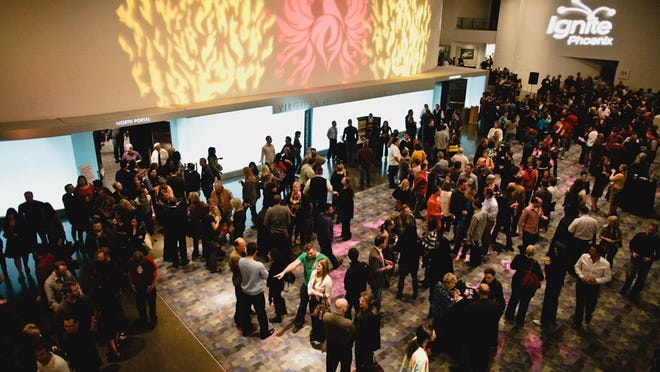 The Scottsdale Cultural Council seeks to cultivate younger audiences by partnering with groups like Ignite Phoenix, which hosted its event at the Scottsdale Center for the Performing Arts.