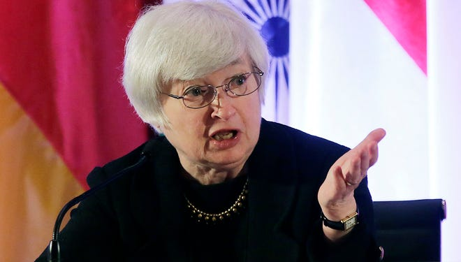 Janet Yellen, vice chair of the Board of Governors of the Federal Reserve.