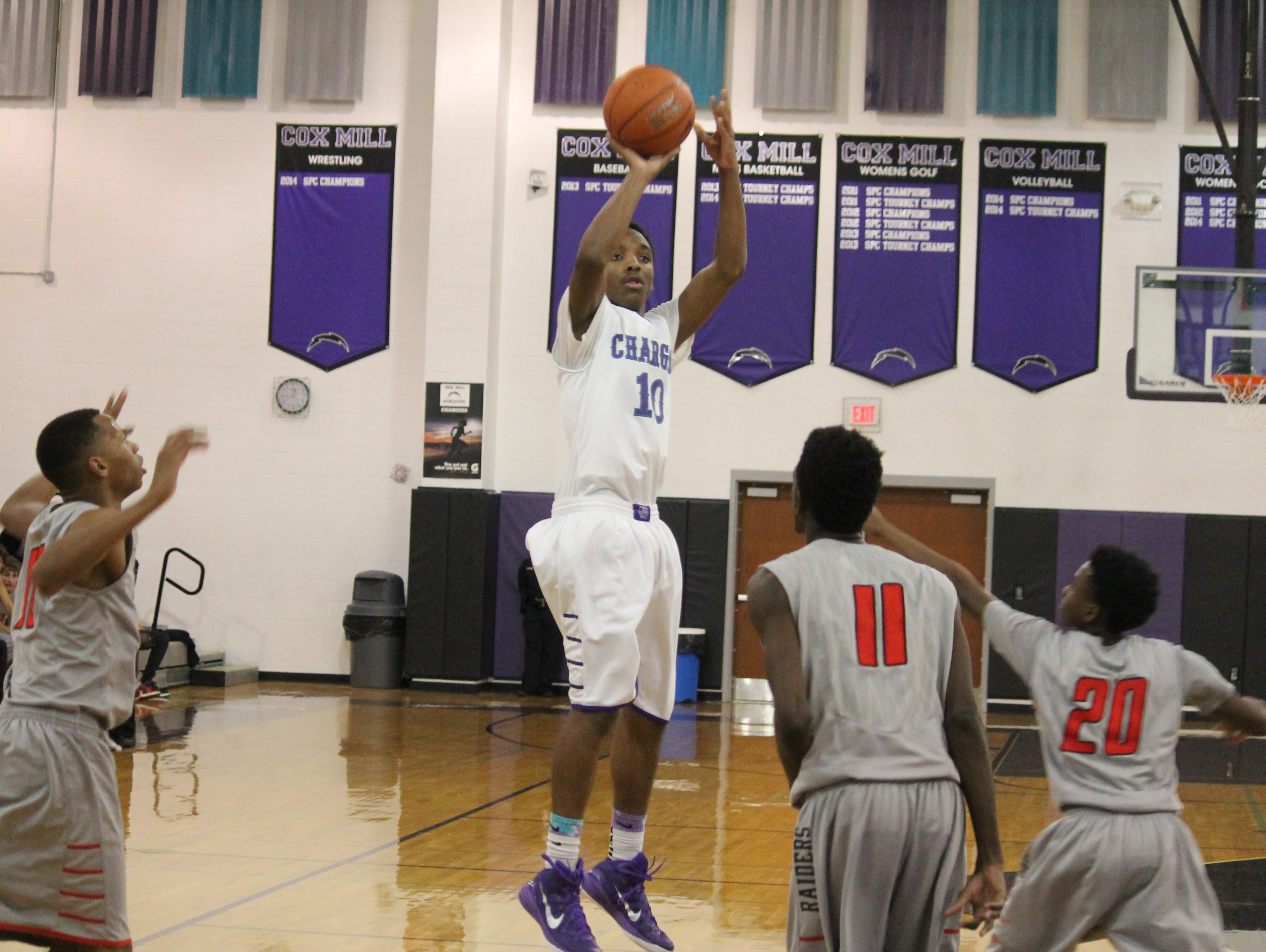 Matt Morgan and Cox Mill find themselves tied for the lead in the South Piedmont Conference.