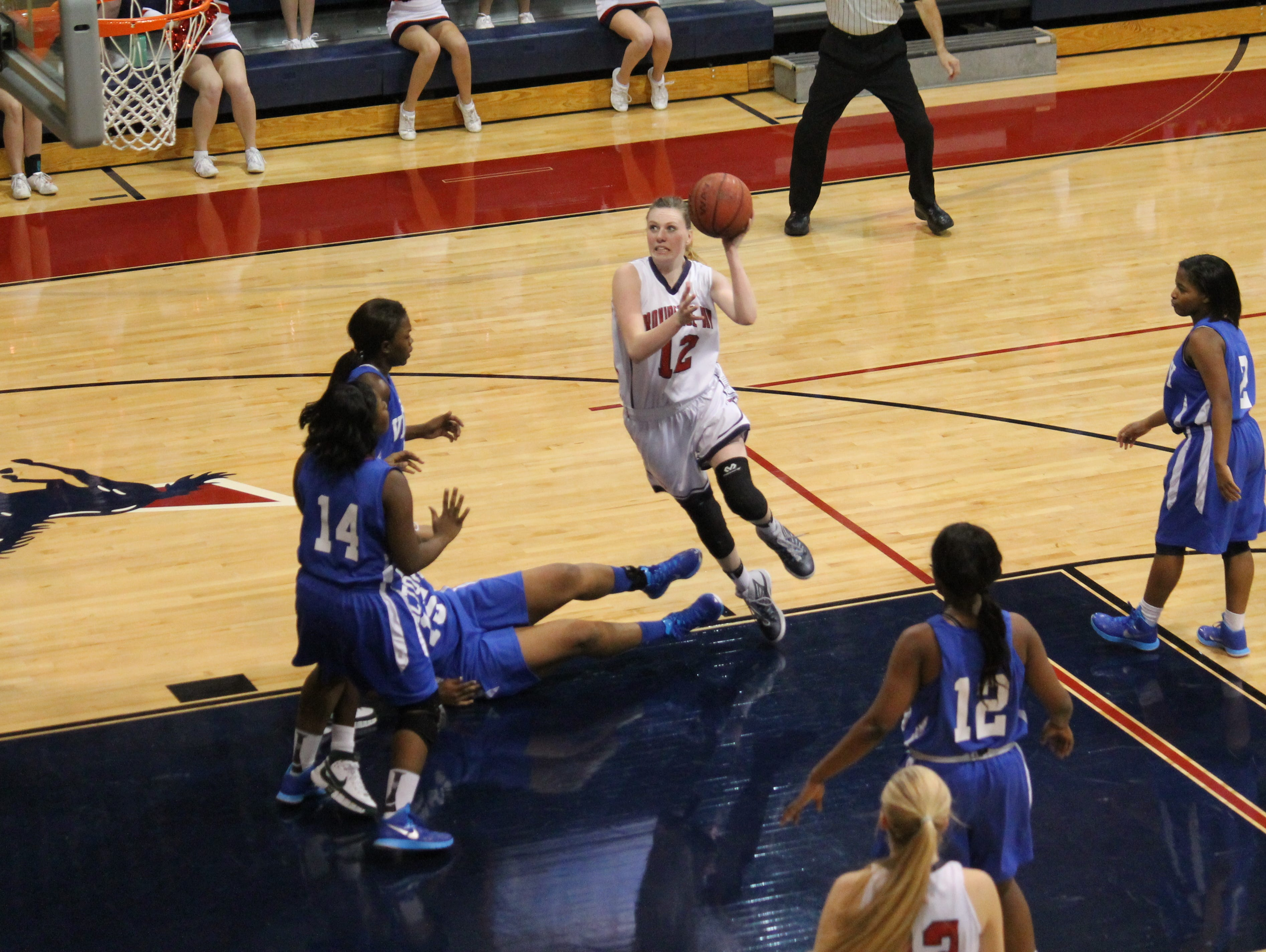 Providence Day School girls basketball has won 10 of the last 11 NCISAA state championships.
