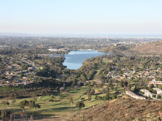 views from Cowles Mountain