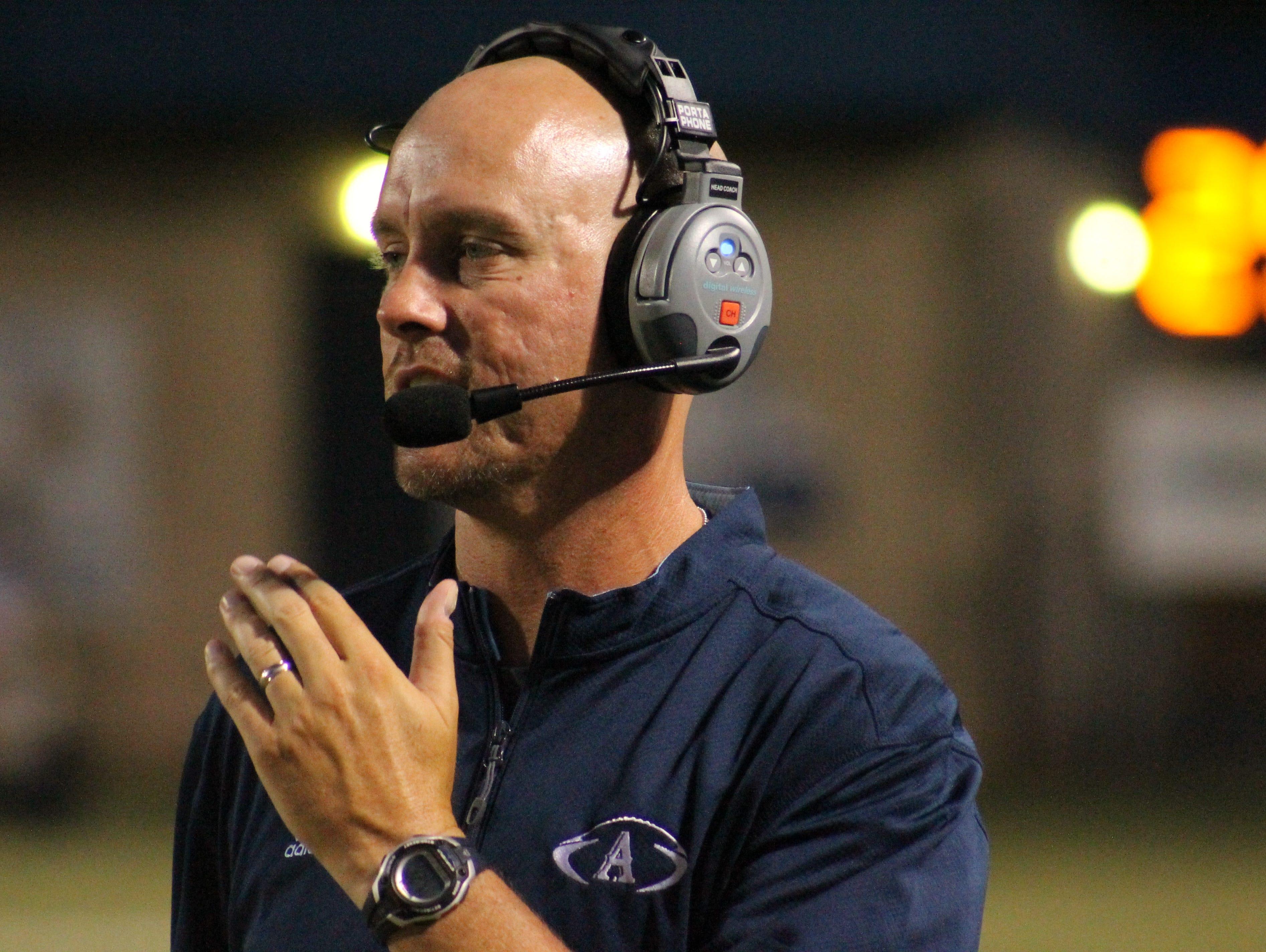 Airline High School head football coach Bo Meeks has created a family atmosphere along Viking Drive.