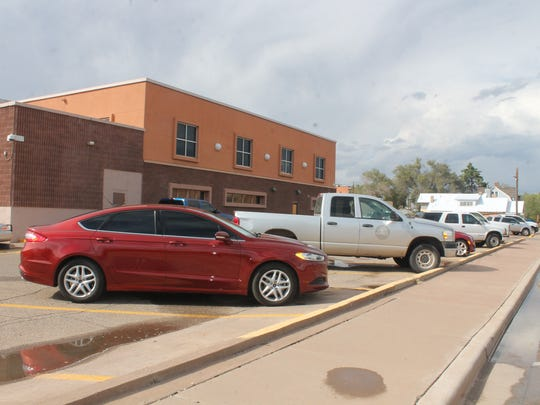 The parking lot behind the Otero County Court House has limited parking spaces forcing court goers  to sometimes park on the side of the street. An upgrade to the judicial complex could mean a brand new building.