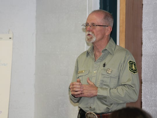USDA and Forest Service Partnership Coordinator Mark