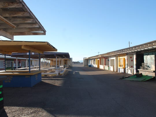 Frontier Village at the Otero County Rodeo and Fair fairgrounds will be demolished on Nov. 30 and will be remodeled.