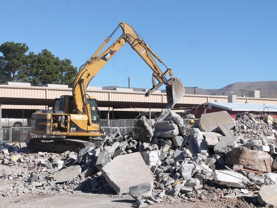 Frontier Village at the Otero County Fair and Rodeo Fairgrounds is being demolished and will be replaced by a $1.2 million outdoor pavilion.