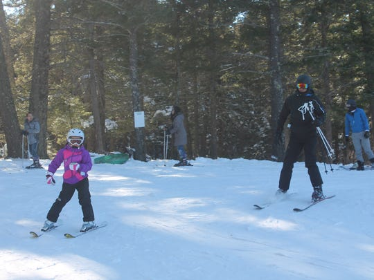 Ski Cloudcroft started their annual discount program for children enrolled in Cloudcroft Municipal Schools on Monday. The program, which has been around for two generations, offers local kids a lift ticket, ski rental and a one hour lesson at Ski Cloudcroft for $20 on Mondays.
