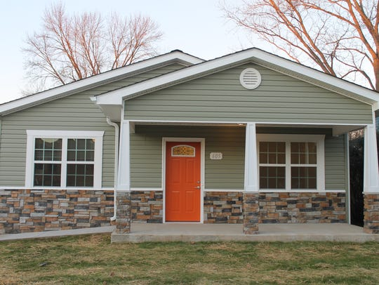 This is the new Habitat for Humanity home in Murfreesboro,