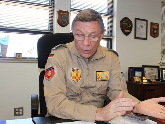 Col. Heinz-Josef Ferkinghoff, the Commanding Director of the German Air Force Flying Training Center (GAFFTC), said that by 2019 the German Air Force will no longer be at Holloman Air Force Base.