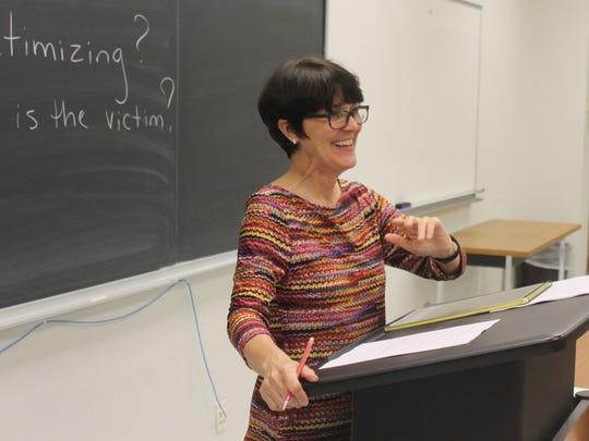 Rhonda Failey, one of the students' favorite teachers