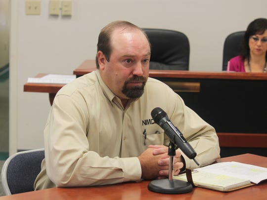 Les Owen from the New Mexico Department of Agriculture discussed the Bureau of Land Management's (BLM) Planning 2.0 initiative to county commissioners at their regular meeting Thursday morning.