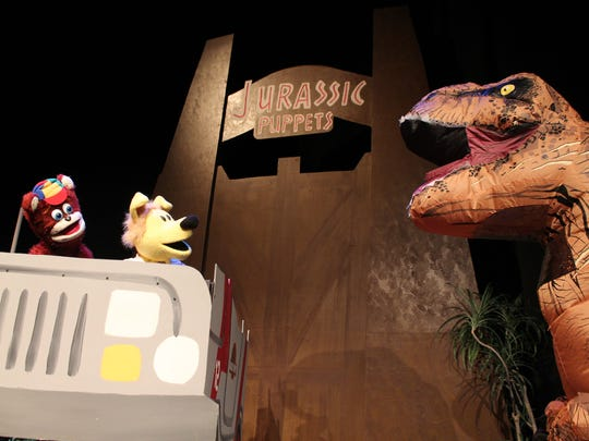 """All Puppet Players' """"Jurassic Puppets"""" re-creates """"Jurassic"""