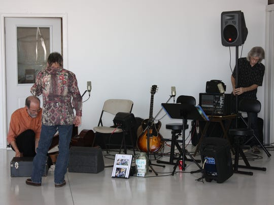 """There will be live music at the """"Hangin' Out in the Hangar event which is 5 p.m. Saturday at the Baxter County Airport, Midway. It benefits the Mruk Family Education Center on Aging,. Tickets are $25."""