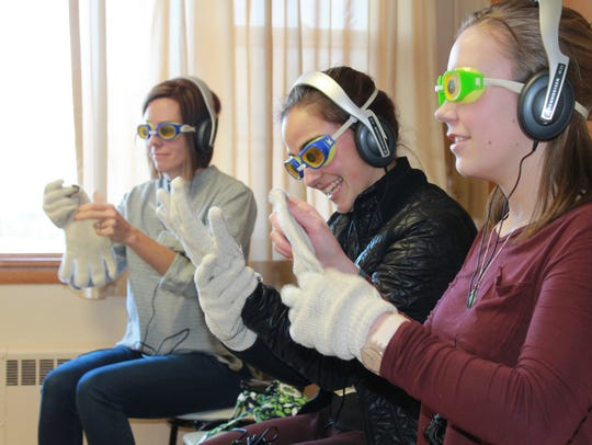 North High students experience Alzheimer's simulation