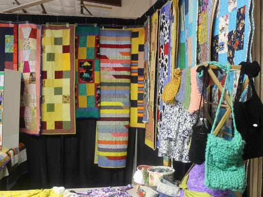 In this 2015 Daily News file photo Displays of quilts hang during the 2015 Southern New Mexico Festival of Quilts.