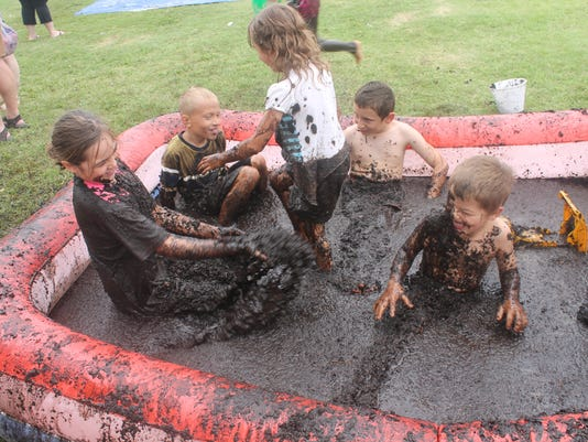 Mud Play Day 1