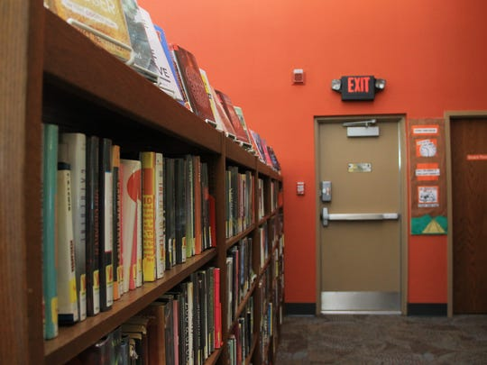 The Hales Corners Library's entire teen space consists of one row of bookshelves and a corner next to the board room. If updated, the library would like to give teens their own space.
