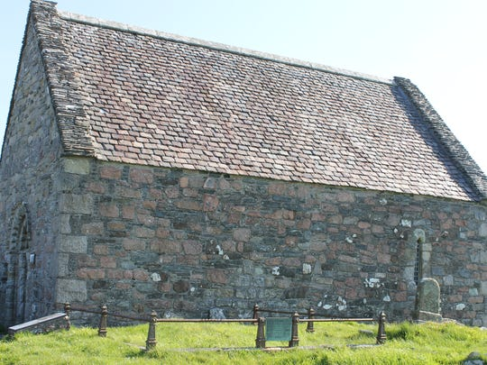St. Oran's Chapel dates back to the 12th century.