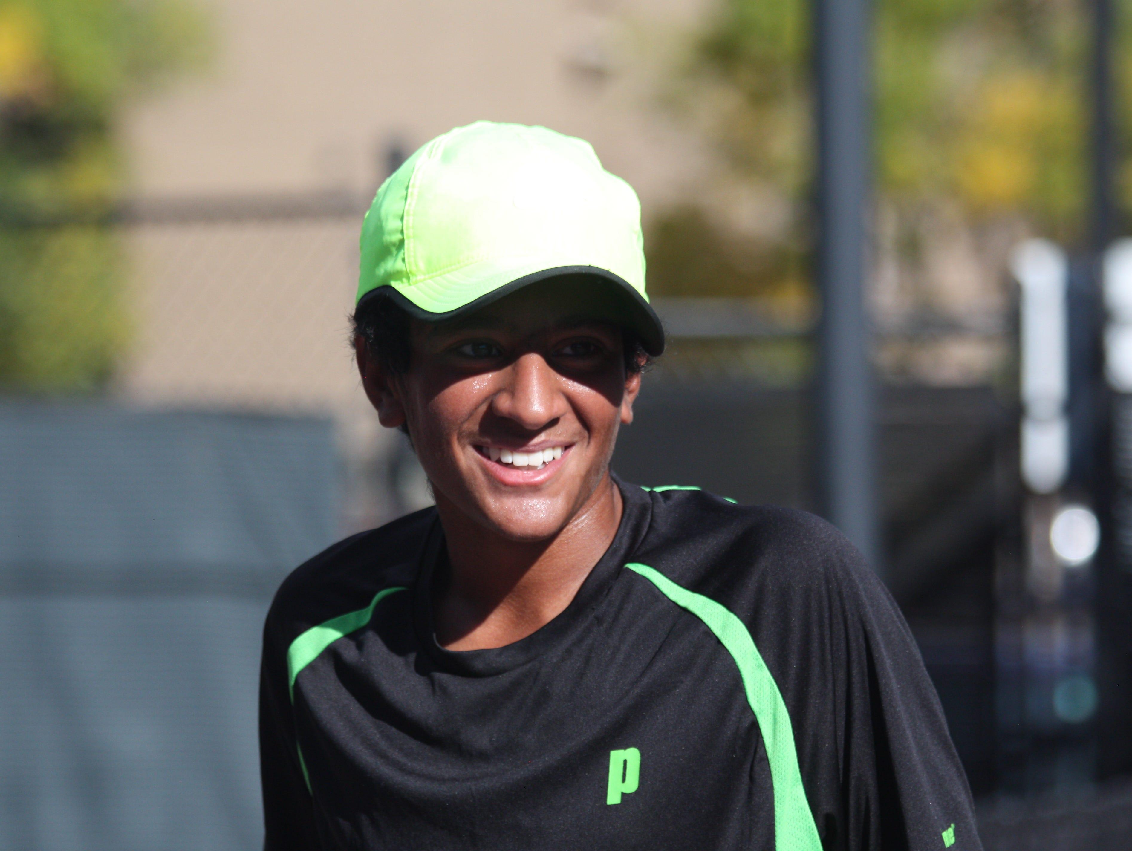 Fossil Ridge freshman Akhil Gupta is the Coloradoan's Male Athlete of the Week.