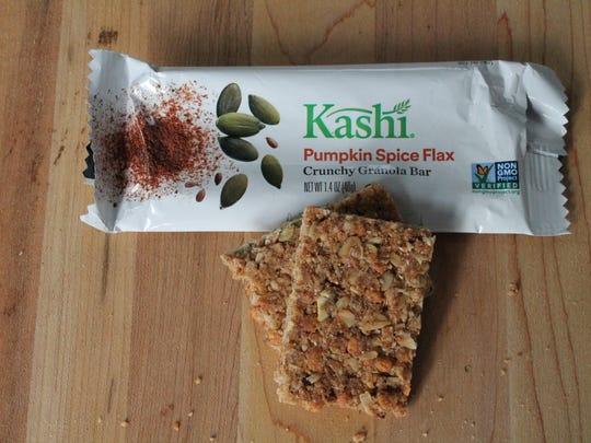 Kashi Pumpkin Spice Flax crunchy granola bar