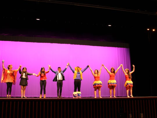 A group of students and a principal from Colombia recently spent time visiting Plymouth High School as part of an ongoing exchange. The visit included a presentation by the Colombian students Oct. 14 for Plymouth High School's world language students and featured high-energy and traditional dances and a funny skit.