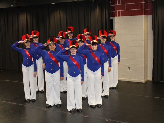 The Tap Co. from the Honors Gifted and Talented Dance program at Somerset County Vocational & Technical High School prepares for the Tappin' to the Holidays A Community Holiday Tap Showcase.