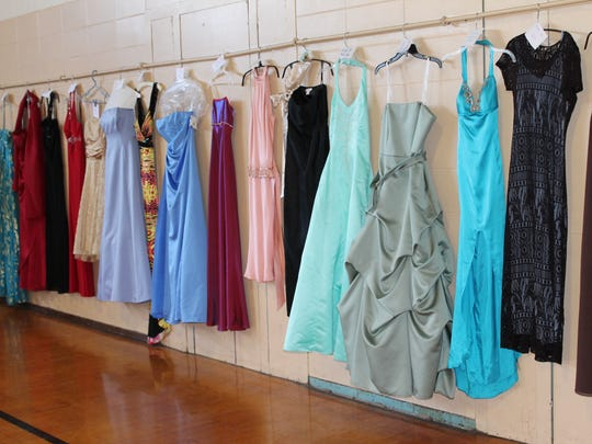 West Milford High School students are preparing for the 2017 Cinderella Project charity dress sale on Feb. 18. The sale, seen in this undated submitted photo, has become an annual event.