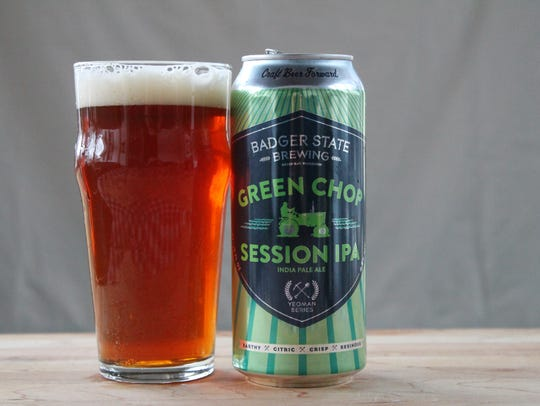Green Chop Session IPA, American IPA, Badger State